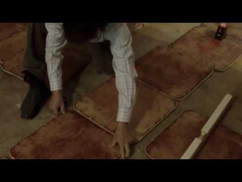 видео: Подготовка к облицовке пола плиткой.