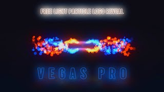 Free Light Particles Logo Reveal | Vegas Pro 15 | SV FX