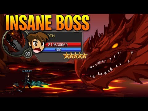 NEW Insane Boss AQW AdventureQuest Worlds