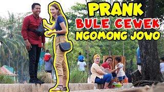 PRANK BULE CEWEK CANTIK NGOMONG JOWO feat Mba Tina Bule