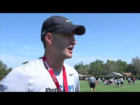 Adrian Peterson football camp (2011-06-23)