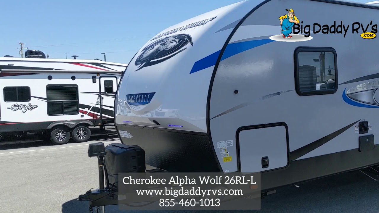 Cherokee Alpha Wolf 26RL-L Travel Trailer at Big Daddy RVs ...