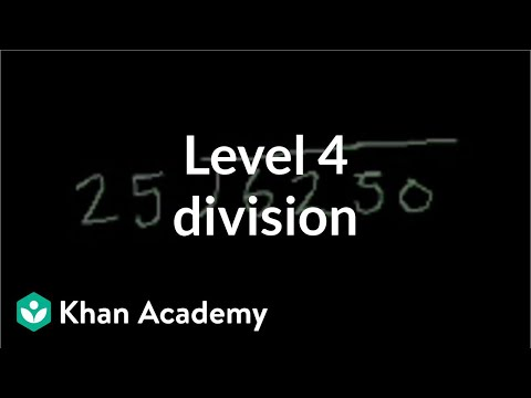 Level 4 division | Multiplication and division | Arithmetic | Khan Academy