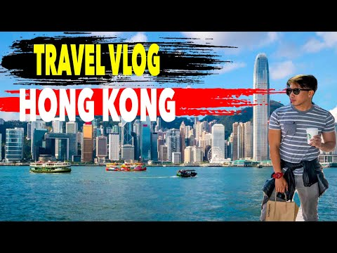 HONG KONG Travel Vlog Part 1