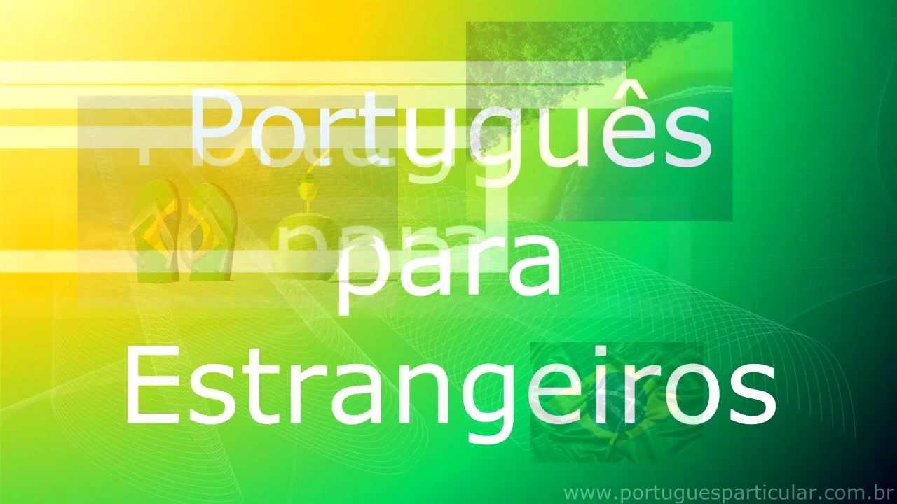 portugues para estrangeiros online dating