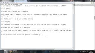 tutorial - come scoprire chi visita il tuo profilo di facebook thumbnail
