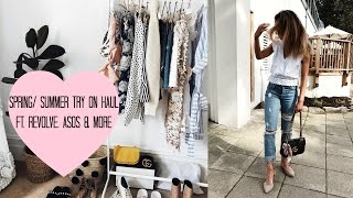 SPRING SUMMER HAUL | TRY ON | ASOS, REVOLVE, & OTHER STORIES