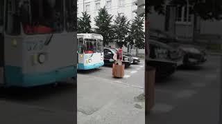 Баба Яга на дороге