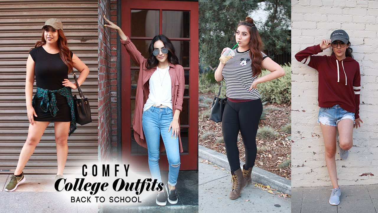24a252a8981 Comfy College Outfits ft. KassieRod!  BackToSchool - YouTube