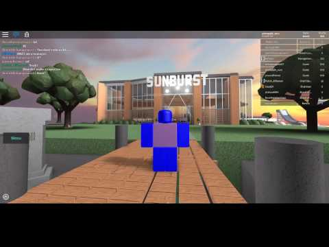 ROBLOX [] Exploiting at Sunburst Cafe!