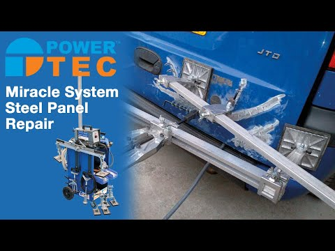 Miracle System Steel Panel Repair from Power-TEC