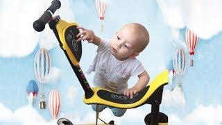 Детский самокат ОБЗОР Скутер для детей Распаковка самоката!!! Scooter for kids