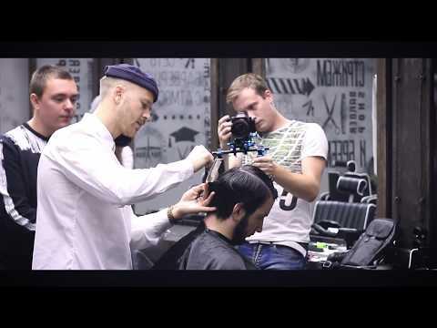 JOSH LAMONACA в Московской Академии TOPGUN Barbershop