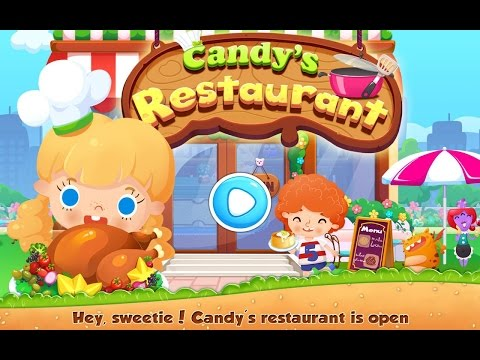 Candy's Restaurant Videos games for Kids - Girls - Baby Android İOS Libii Free 2015 - 동영상