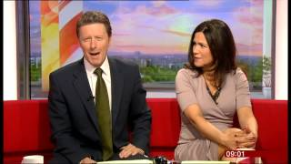 Charlie forgets who Susanna Reid is - again! (Breakfast, 2.7.13)