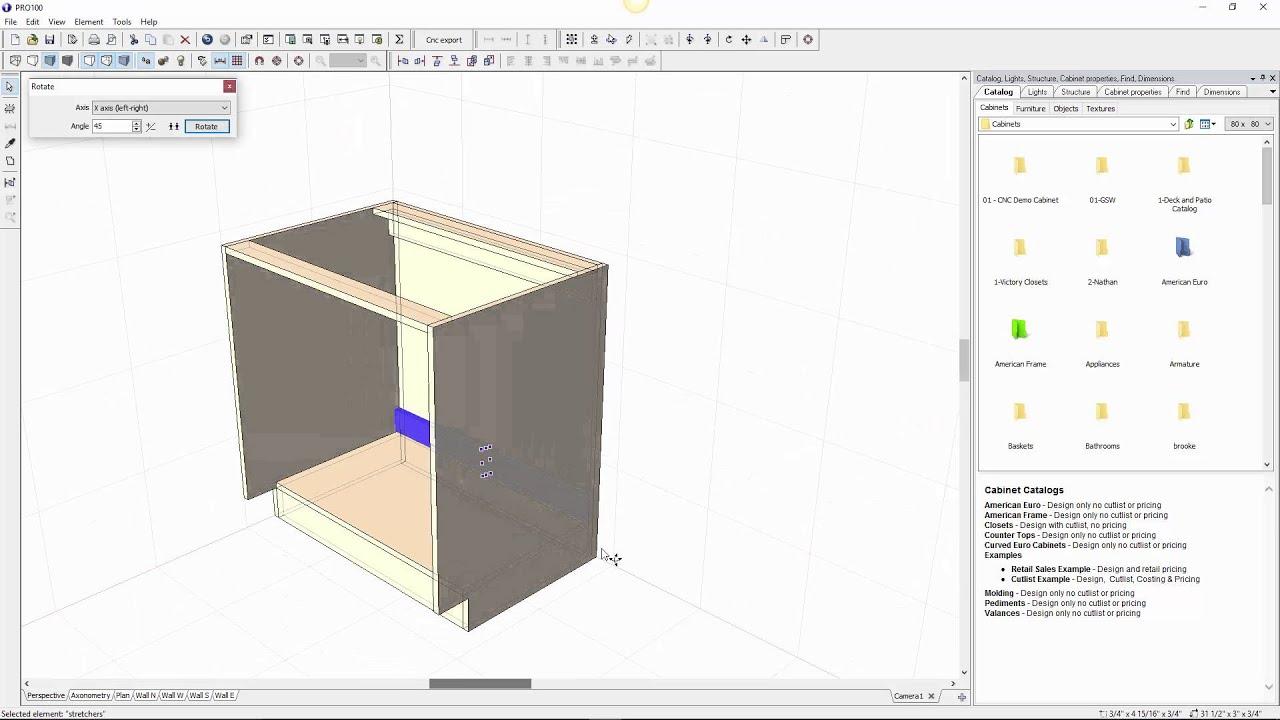 Custom Cabinet Software