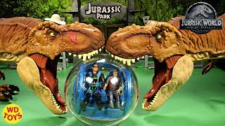 WD Toys Presents T-Rex Vs T-Rex. Can Owen and Ian Malcolm Survive t...