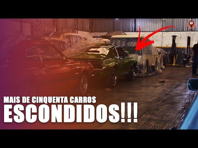Coleção ENORME de CARROS RARÍSSIMOS - Maverick, Opala, Dodge e MUITO MAIS!!!