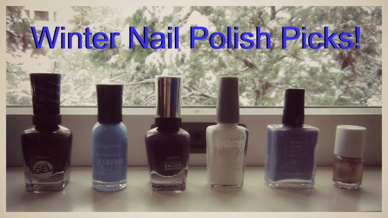 My Favorite Winter Nail Polish Sally Hansen Wet N Wild