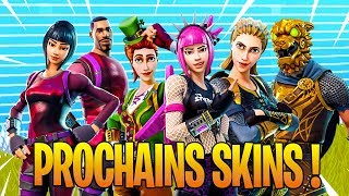 THE PROCHAINS SKINS CACHÉS on Fortnite: Battle Royale!!