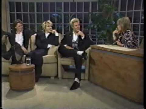 Duran Duran Interview 1987 Joan Rivers