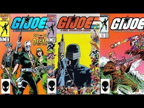 G.I. Joe Comics 51 -- 60 (Marvel 1982-1994) review
