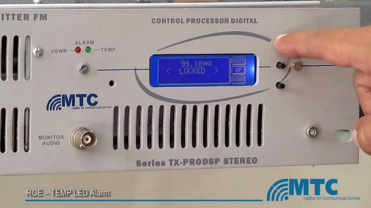 TRANSMITTER FM TX500 BROADCAST PROFESSIONAL