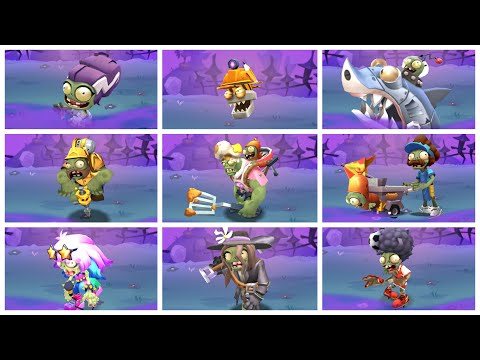 Plants Vs Zombies 3: All Zombies