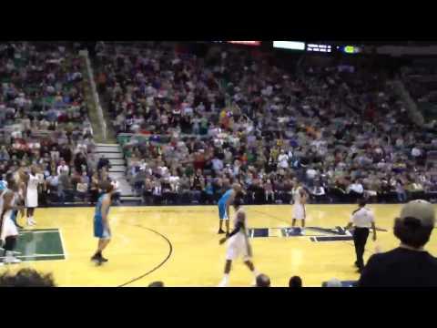 Jazz game against Hornets