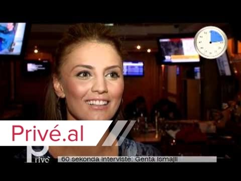 60 SEKONDA INTERVISTE - GENTA ISMAJLI - PRIVE KLAN KOSOVA