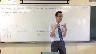 Introduction to Complex Numbers (1 of 2: The Backstory)