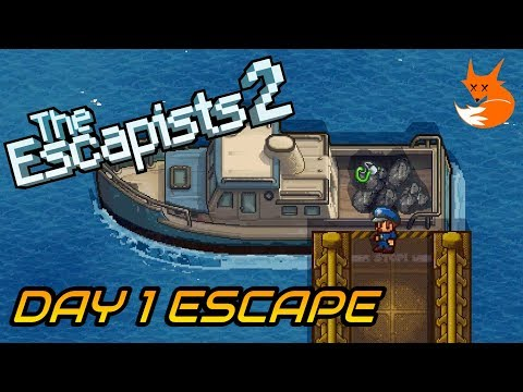 H.M.P. OFFSHORE DAY 1 ESCAPE (Trash Talk) | The Escapists 2 [Xbox One]