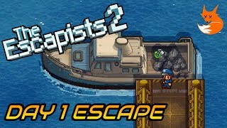 H.M.P. OFFSHORE DAY 1 ESCAPE (Trash Talk) | The Escapists 2 [Xbox One]