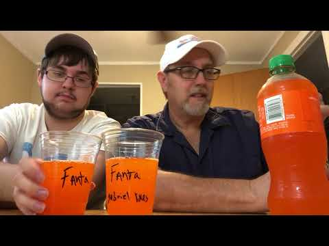 The Beer Review Guy #1095 Fanta Orange, Sunkist Orange , Crush Orange.