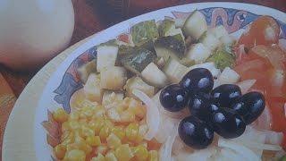 Смотреть как сделать Салат Юкатан из авокадо Мексиканская кухня