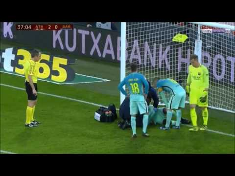 Bilbao ridiculous cheat vs. Barcelona. Shame of football.