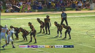 Laurier Football at Waterloo - September 23, 2017