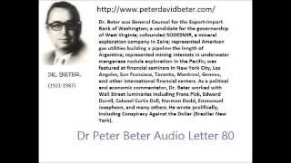 Dr. Peter Beter Audio Letter 80: DarkAges; Israeli; New Kremlin- November 3, 1982