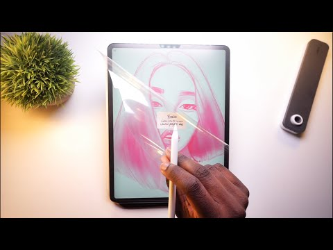 Paperlike Screen Protector! - Worth It For Artists?