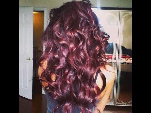 How To Achieve A Deep Burgundy Hair Colour Youtube