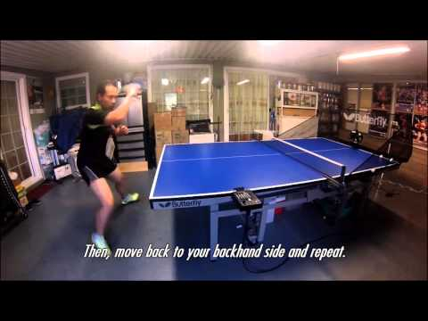Falkenberg drill  Master table tennis at home with AMICUS Professional Robot
