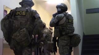 ФСБ опубликовала видео задержания подозреваемых в подготовке терактов в Москве