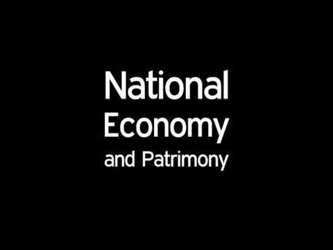 National Economy and Patrimony