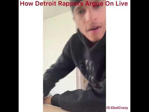 How Detroit Rappers Argue On IG Live