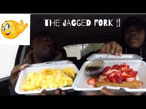 The Jagged Fork Food Reaview!!! | MAM EATING SHOW