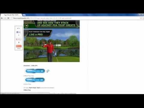 tiger woods pga tour 12 android apk free download