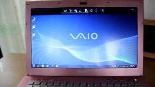 소니 바이오 핑크 노트북 VPC SB25FK
