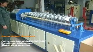 High Speed Paper Tubes Cutter Machines with multi-blades ( TZ-A3 )