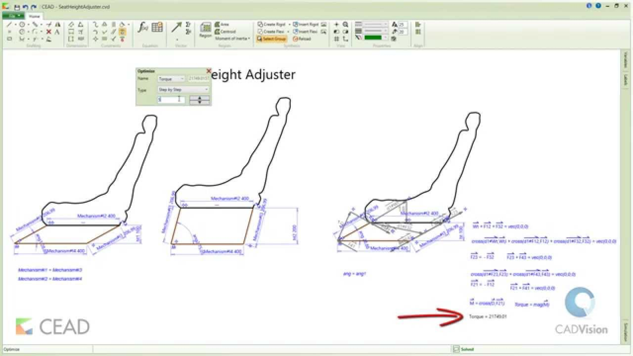 hight resolution of cead seat height adjustment mechanism