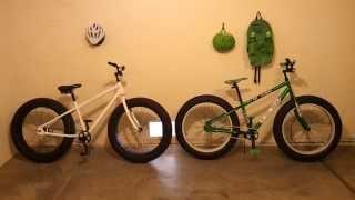 MONGOOSE BEAST REVIEW FAT BIKE BMX MTB 26x4.0 Wheels & Tires
